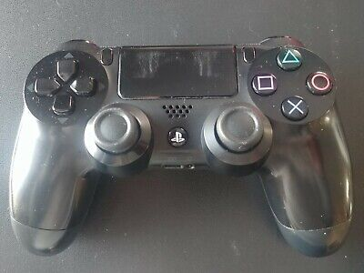 Genuine PS4 Dual Shock 4 PlayStation 4 Controller jet black (Refurbished)