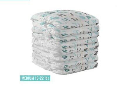 Baby Box Safe+Smart Disposable Bamboo Diapers. M 13-22lbs (6-11kg) Pack Of 21