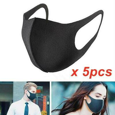 5X Breathable Face Mask Anti-Haze Mouth Washable Facial Skin Protection Shield