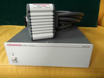 Hamamatsu ORCA-ER Deep Cooled Firewire Camera C4742-80, with software, Tested