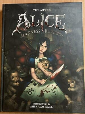 Art Book The Art of Alice Madness Returns Used