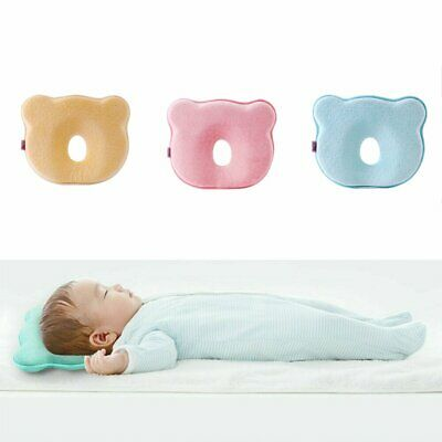 Newborn Anti Flat Head Cushion Infant Baby Cot Pillow for Crib Bed Neck Support
