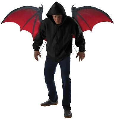 Bloodnight Men's Halloween Bat Wings Costume Accessory Genuine California Cos...