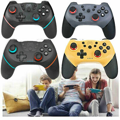 For Nintendo Switch Pro Wireless Bluetooth Controller Game Gamepad Joystick Gift