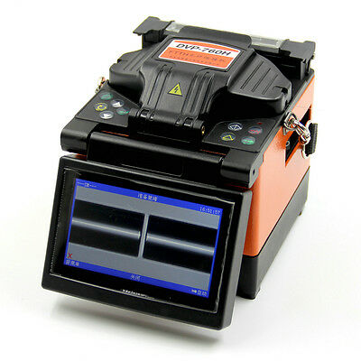 DVP-760H Optical Fiber Splicing Machine FTTH Fiber Optic Fusion Splicer