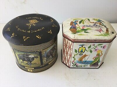 vintage tea tins Shop