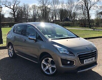 2014/14 Peugeot 3008 Allure 2.0 HDi Automatic in Grey, 66k Miles, FSH, Pano Roof
