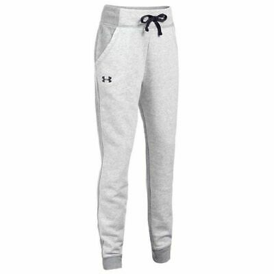 Kids Girls Under Armour Grey Joggers