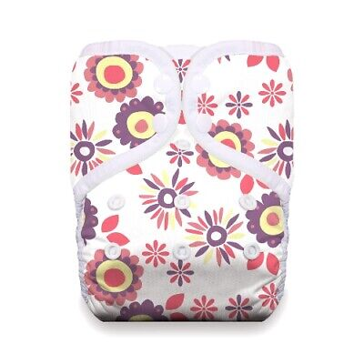Thirsties Reusable Cloth Diaper - One Size Pocket Diaper - Snap - Alice Brights