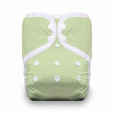 Thirsties Reusable Cloth Diaper - One Size Pocket Diaper - Snap - Celery Green