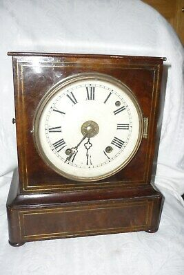 Quality, antique, 19th Century, 8 day, Black Forest Mantel Clock