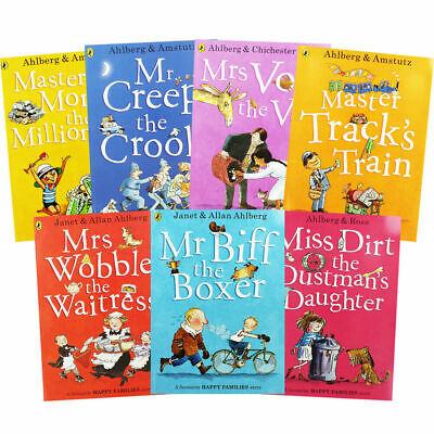 Allan Ahlberg Happy Families 10 Books Collection