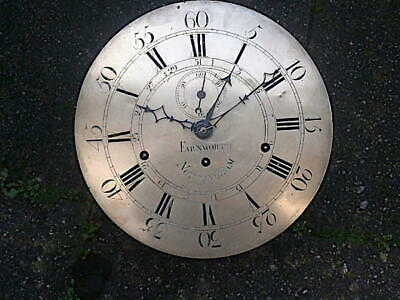 C1790 8DAY  6 BELL LONGCASE GRANDFATHER CLOCK DIAL+movement 14 inch FARNWORTH OF