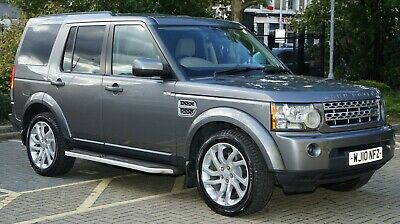 Rrp £48,000 Luxury Cream Leather Interior Land Rover Discovery 4 3.0 Tdv6 Xs Car