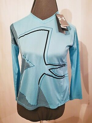 Girls Under Armour Heatgear Top Youth Large BNWT Age 12-13