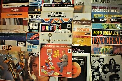 Vintage Vinyl Record Albums - from the 1960's - 1970's - 1980's