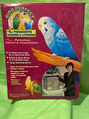 Bird Perfect Cage For Parakeets Canaries Lovebirds
