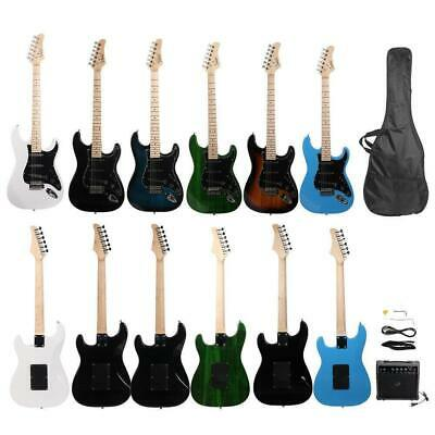 """High Grade Glarry 39"""" GST Right Handed Electric Guitar with Bag AMP Accessories"""
