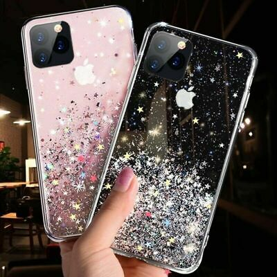 For iPhone 11 Pro XS Max XR X 8 7 Plus Bling Glitter Shockproof Phone Case Cover