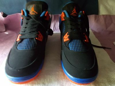 Nike Air Jordan Kids Size Us 5Y Shoes Black/Blue/Orange New