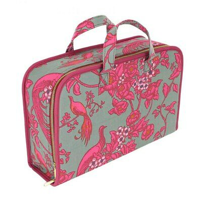 Florence Broadhurst Carry Case Berry and Grey
