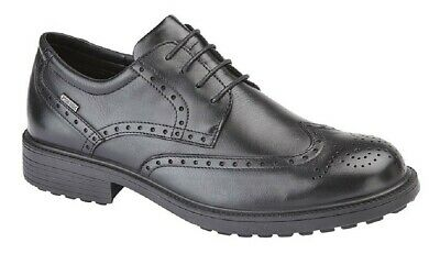 Progressive S1 Executive Brogues Lace Leather Mens Safety Up Super Fine Quality