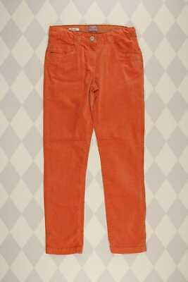 MANGO KIDS Samt-Hose D 152 orange Kinderhose Mädchen Kinder
