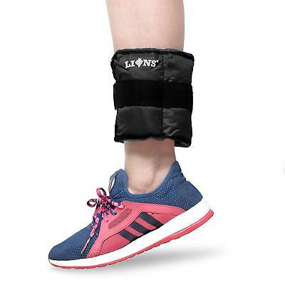 Lions Ankle Weights Running Exercise Adjustable Wrist Strength Gym Fitness Resis