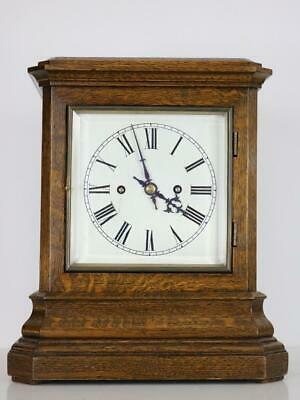 ANTIQUE 4 GLASS BRACKET CLOCK twin fusee FULLY RESTORED stunning W&H ting tang