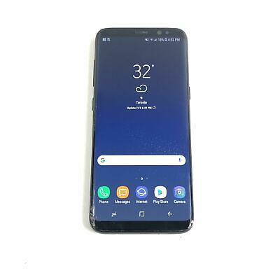 Samsung Galaxy S8 SM-G950U - 64GB (Unlocked) Android Smartphone Black RE