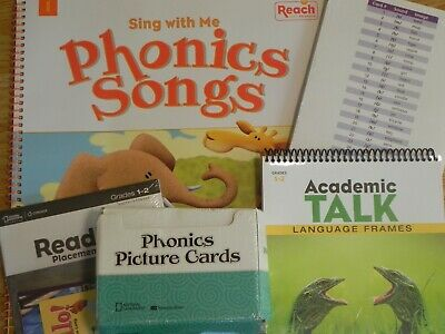 1st - 2nd Grade Reach into Phonics Kit Picture Cards, Sound Spelling Cards, Teac