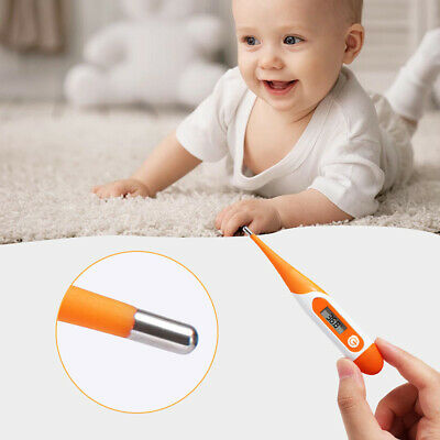 Baby Child Adult Body Digital LCD Heating Thermometer Temp Measurement Meter um