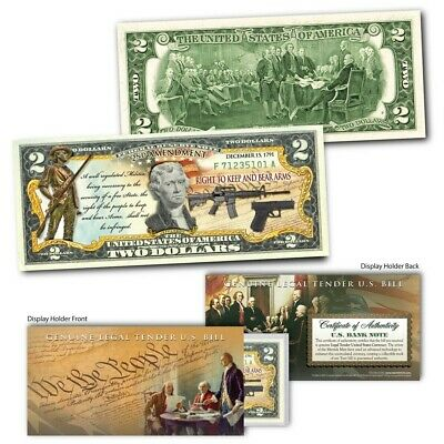 President 38th U.S Colorized $2 Bill US Genuine Legal Tender GERALD FORD