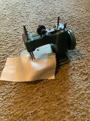 Betsy Ross Sewing Machine Miniature Vintage 1950s Metal - NO HANDLE