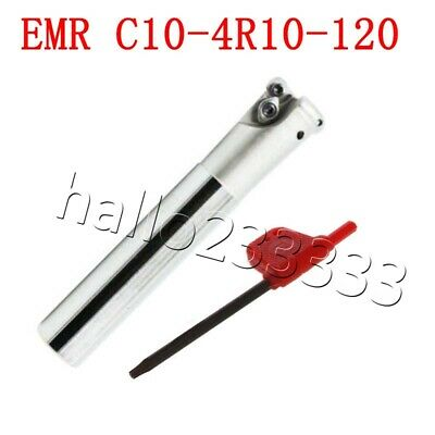 EMR C10-4R10-120 CNC round head indexable End Mill shank milling cutter Holder