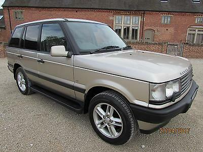 Range Rover P38 4.6 Hse 1999 44,000 Miles From New Service History