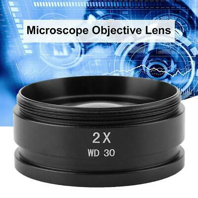 2X Auxiliary Objective Lens for Stereo Microscope Mounting Thread 48mm
