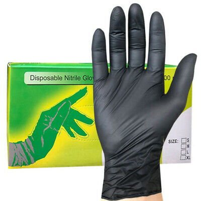 Nitrile Disposable Gloves Latex Powder Free Glove For Medical Beauty Cleaning