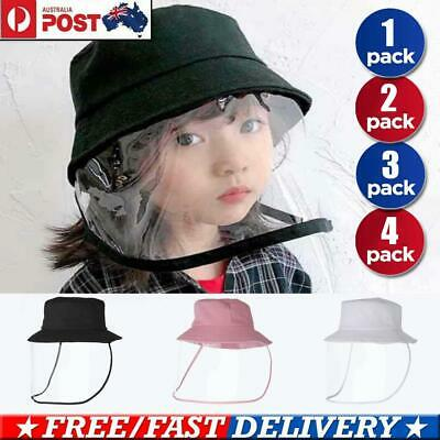 Outdoor Fisherman Hat Removable Protective Cover Anti-UV Fog Caps for Adult Kid