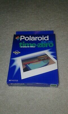 POLAROID SX-70 Vtg Instant Film Time Zero Pack Unopened EXP 01/99 Free Shipping