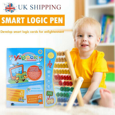 Interactive Electronic Point Reading Book Learning Toys Toddler Kids Educational