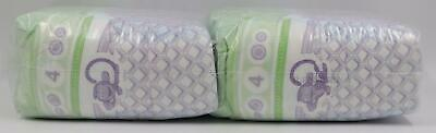 Luvs Baby Infant Size 4 Multicolor Diapers 44 Count
