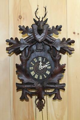 Large Antique American Cuckoo Clock Co. Cuckoo Clock ~ Circa Early 1900's ~
