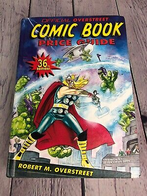Official Overstreet Comic Book Price Guide 36th Edition Thor 2005