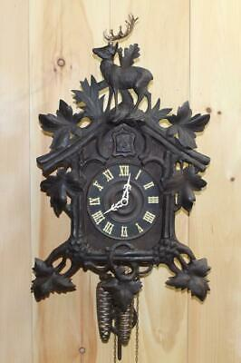 Large Antique Black Forest GK Cuckoo Clock Co. ~ Circa Early 1900's ~