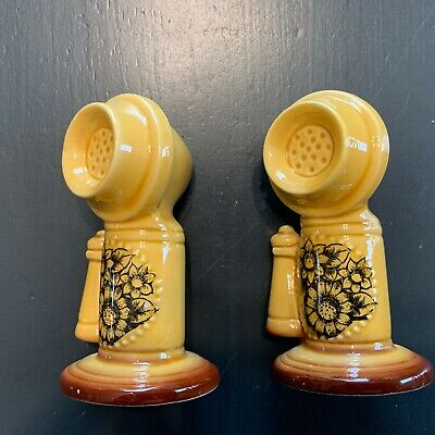 Old Fashion Telephone Salt and Pepper Shakers