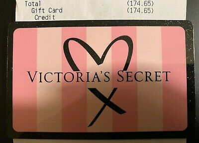 $174.65***Victoria's Secret Store or Online Merchandise Credit Gift Card