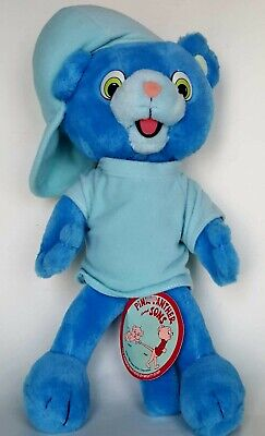 Vintage Pink Panther and Sons Blue Panther Punkin Plush Mighty Star 1984 Rare