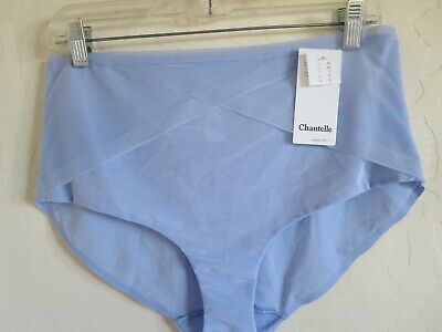 Nwt, Chantelle #2908 C Smooth High Waist Brief Panty, Small,  Serenity Blue, $38
