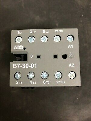 ABB auxiliary contacts B7-30-01 48V New